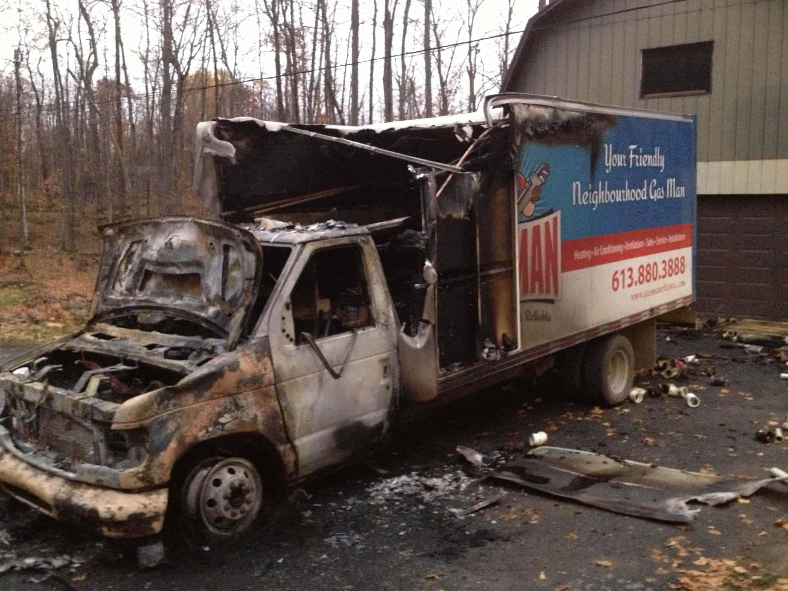 gasman truck after fire 404 error page