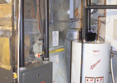 hot water heater installed in an ottawa basement 2