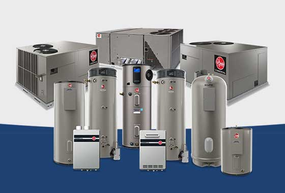rheem all hvac products