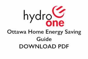 Hydro One Energy Saving Guide